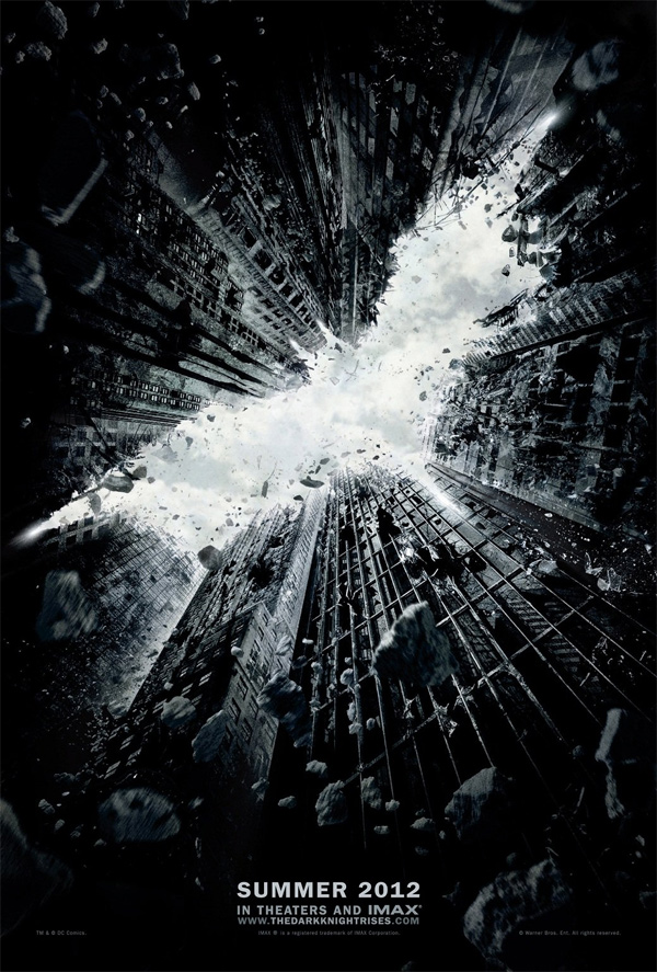 Teaser poster de The Dark Knight Rises