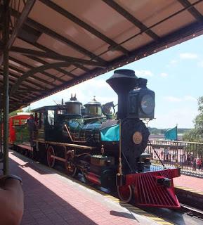 Magic Kingdom Train