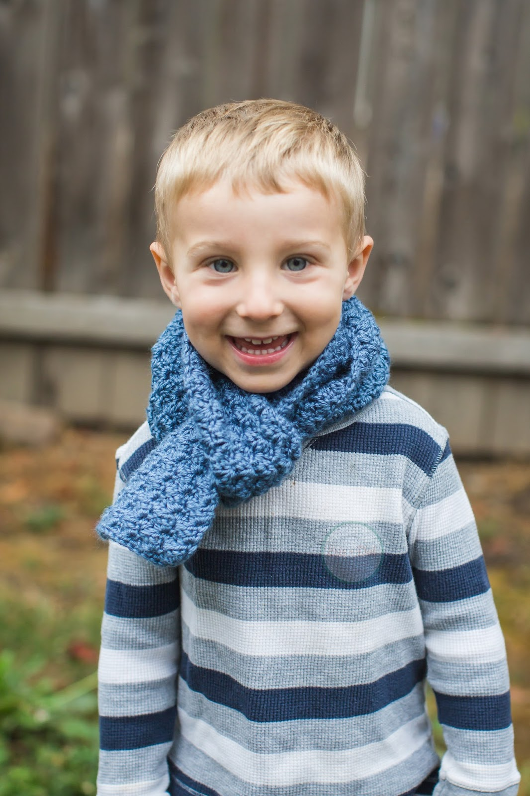 The Oliver Scarf, Children's Crochet Scarf, Toddler Scarf, For Boys, For Girls, For Kids, Knit Scarf, Neckwarmer, Scarf for Boys, Youth Scarf