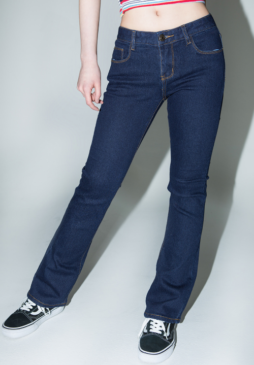 Classic Boot Cut Denim Jeans