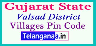 Valsad Pin Codes in Gujarat State