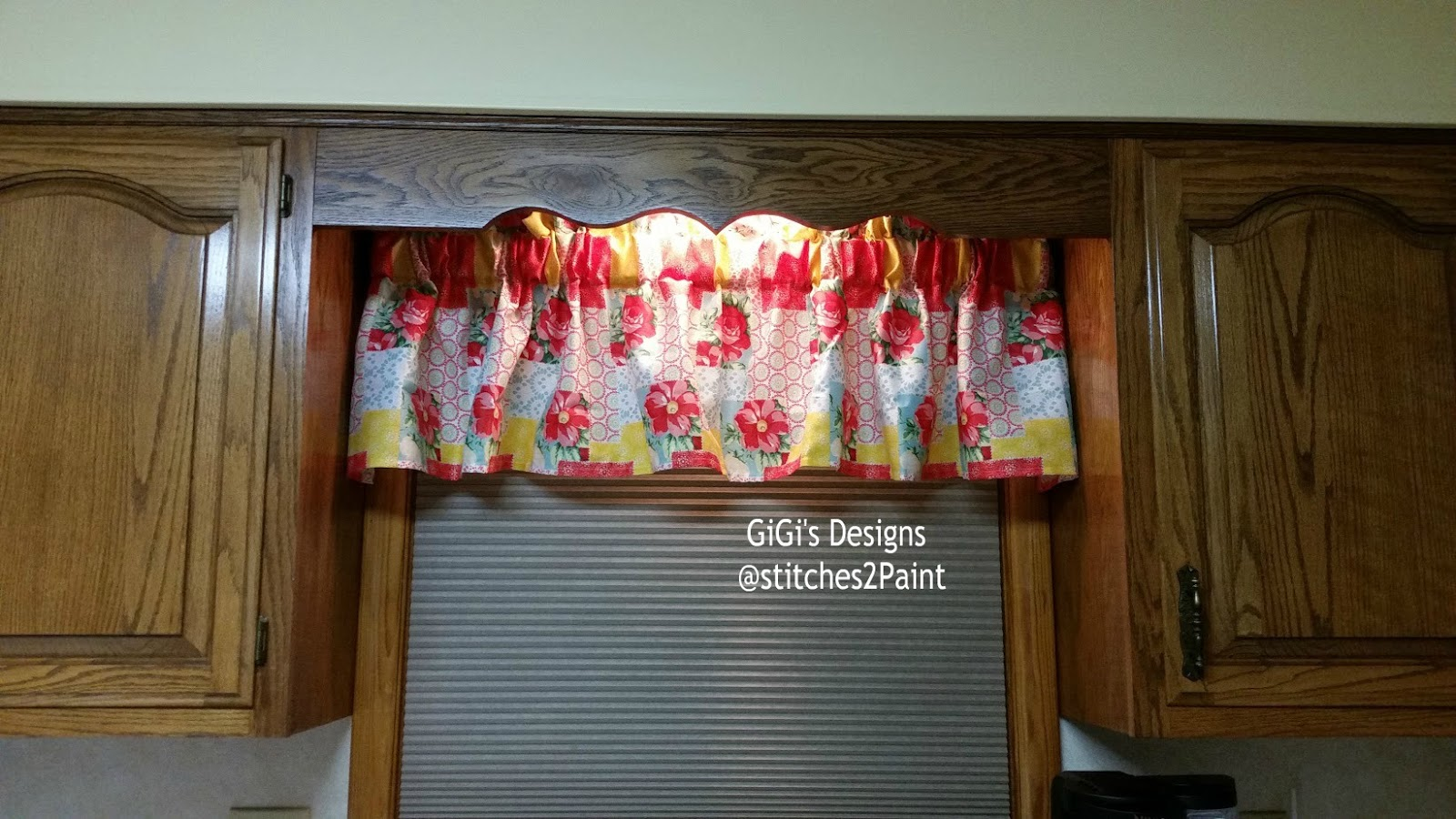 I Have Written Out How Made My Farmhouse Style Kitchen Curtains Pioneer Woman Inspired