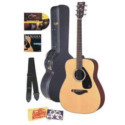 yamaha fg700s acoustic guitar best folk bundle with hard. Black Bedroom Furniture Sets. Home Design Ideas