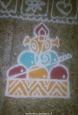 Ganpati Festival Rangolis