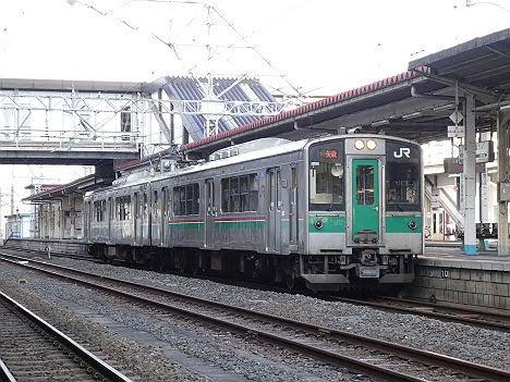 東北本線 ワンマン 矢吹行き3 701系