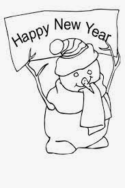 baby new year coloring pages free | Free Happy New Year Coloring Pages For Kids