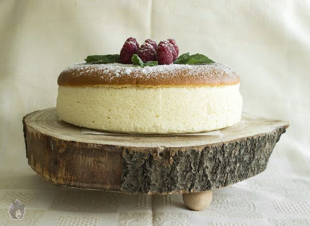 Cotton Cheesecake (Cheesecake Japonés)