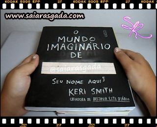 resenha o mundo imaginário de livro interativo keri smith