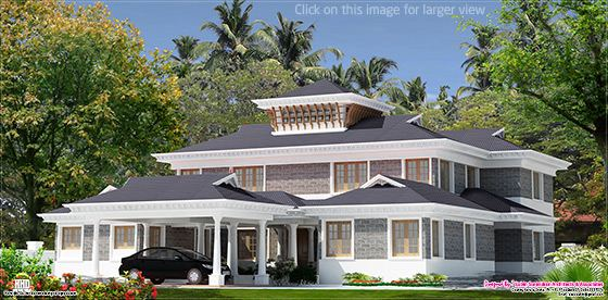 5000 sq.feet luxury villa