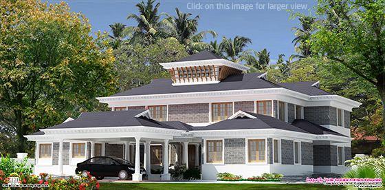 5000 sq.feet luxury villa