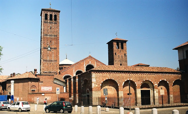 Informações sobre a Basílica di SantAmbrogio em Milão