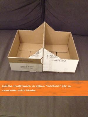scatola del riordino facile - prima (delle finiture)