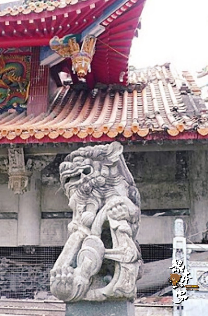南投集集古蹟景點|武昌宮|明新書院