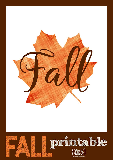 maple leaf fall printable