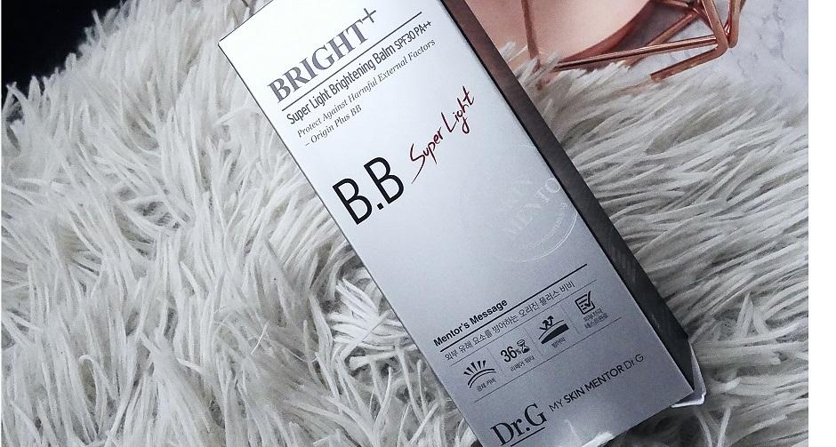 KREMY BB / BRIGHT+, SUPER LIGHT BRIGHTENING BALM BB/ dr.b/ azjatyckie kosmetyki