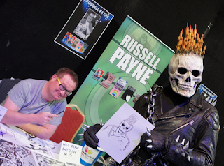 Russell Payne Ghost Rider Cosplay