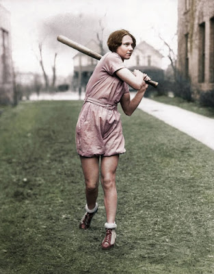 Betty Robinson (Colorized)