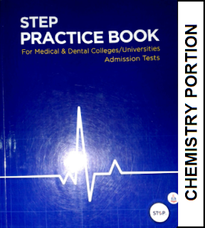 STEP MDCAT Chemistry Practice Book Portion (ECAT/MDCAT Preparation Book)  - EducatedZone
