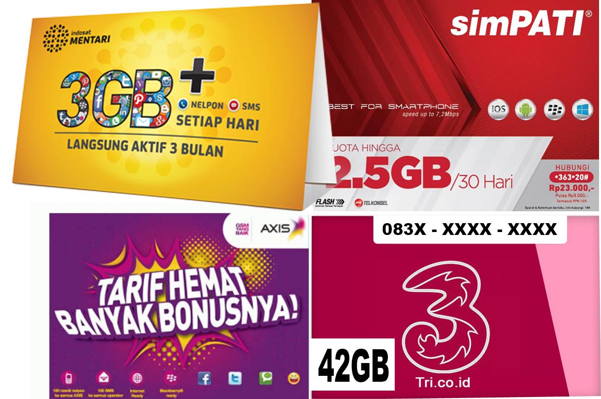 Paket Internet Murah Kuota Gede Terbaru 2017 Perdana Indosat 35gb 15 20 Gb 4g 24 Jam Paling