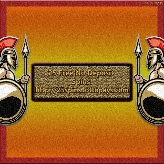 Spartan Slots No 25 Free Spins Deposit Promo