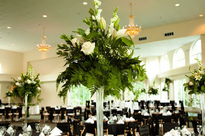 wedding marquee floral decoration for floral wedding venue