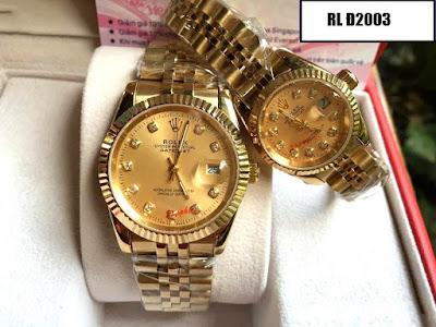 Đồng hồ cặp đôi Rolex Đ2003