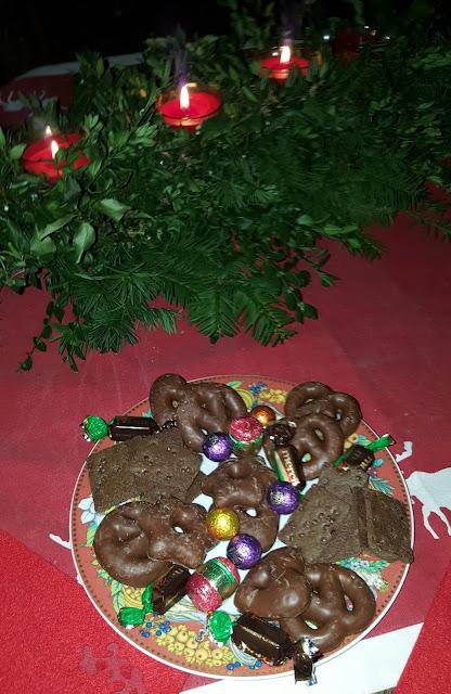 unser Bunter Teller zum 3.Advent