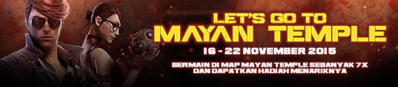 CrossFire Indonesia Hadirkan Event Lets Go To Mayan Temple