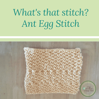 Picture of what's that stitch ant egg stitch