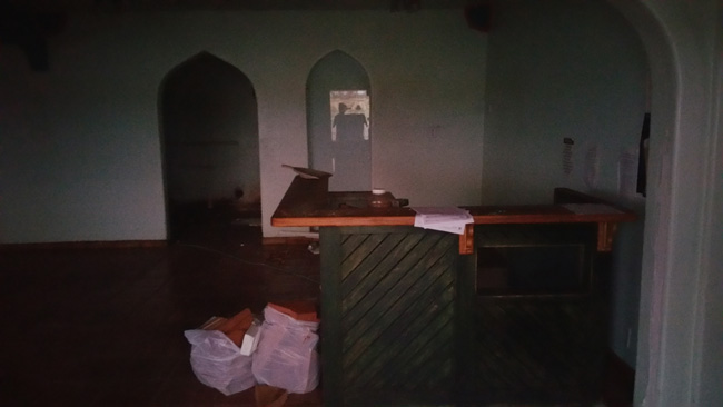 Abandoned Restaurant near Tucson AZ