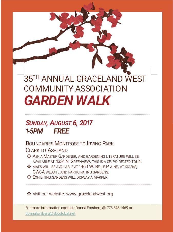 Garden Walk 2017 Highlights: Uptown Update: Join The Graceland West Annual Garden Walk