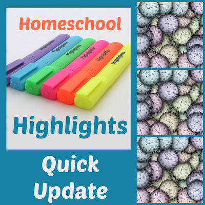 Homeschool Highlights - Qiuick Update on Homeschool Coffee Break @ kympossibleblog.blogspot.com - a weekly link-up for #homeschool posts #HomeschoolHighlights