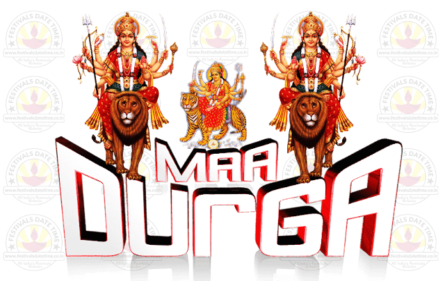 Durga Puja Transparent PNG Wallpaper Free Download