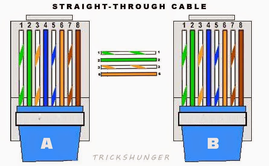 Cat6 Ethernet Cable Wiring Diagram Cat 6 Wiring Diagram Wiring