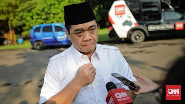 Gerindra Dukung Seruan Politik Identitas Habib Rizieq