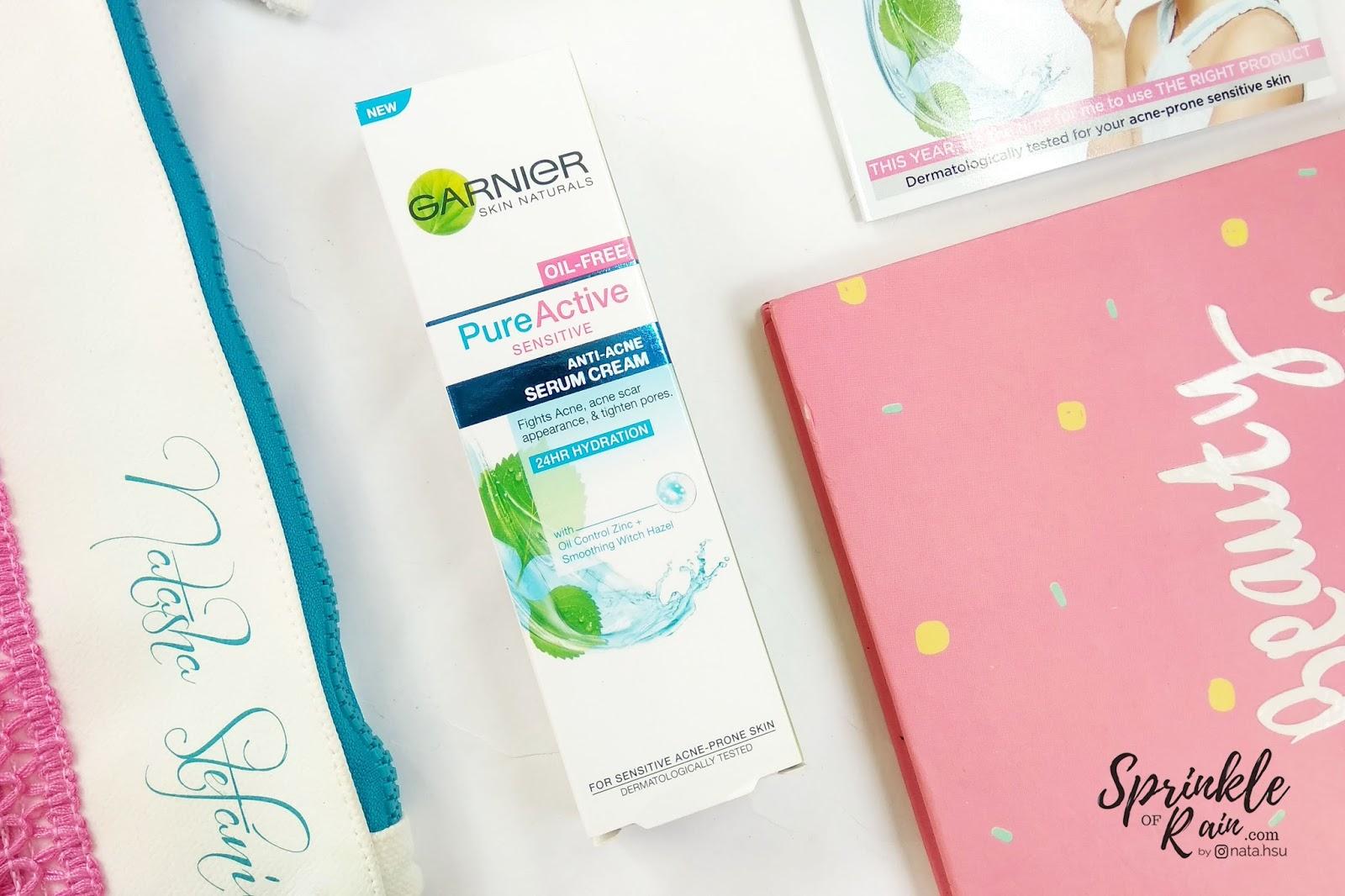 Review Garnier Pure Active Sensitive Solusi Untuk Mysensitiveissue Acne Care Whitening Cream 20ml Anti Serum Merupakan Pelembab Kulit Sensitif Pertama Dari Dengan Formula Tanpa Minyak Yang Ringan Di