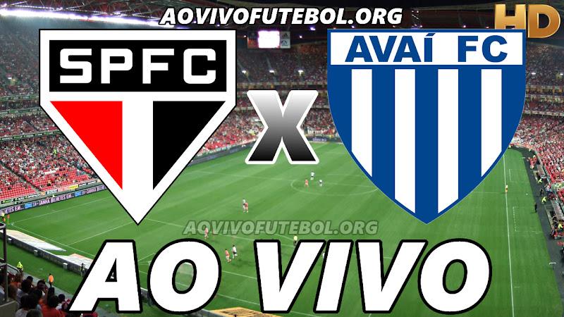 Assistir São Paulo vs Avaí Ao Vivo HD