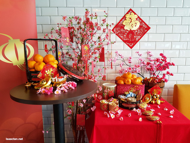 Lovely decor at Yellow Apron Petaling Jaya