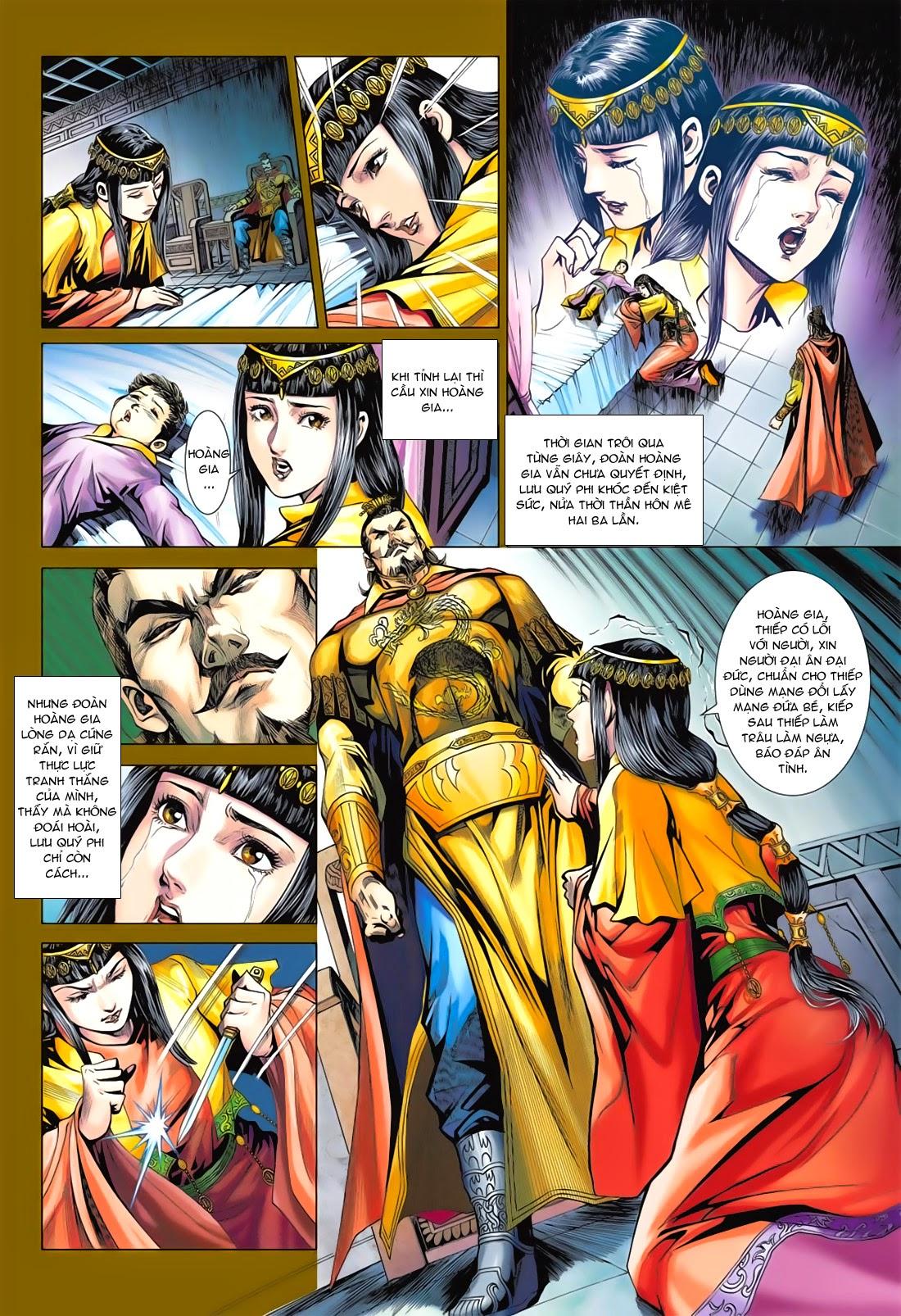 Anh Hùng Xạ Điêu anh hùng xạ đêu chap 78: sát anh trang 18