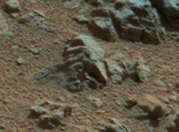 72ae861478f2757344214044cb6d7928641ef1e6 - El Mars Rover descubre rostro reptiliano petrificado en Marte