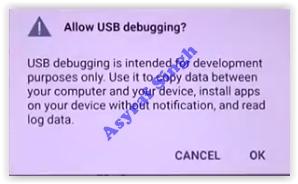 allow usb debugging - LG G4