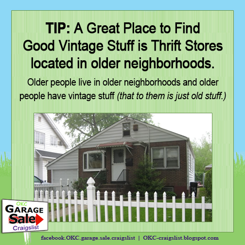 TIP: Where to Find Cool Vintage Stuff