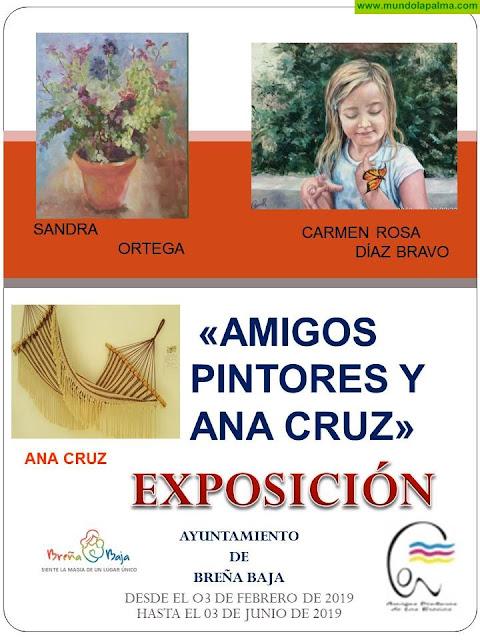 AYUNTAMIENTO: Amigos Pintores y Ana Cruz