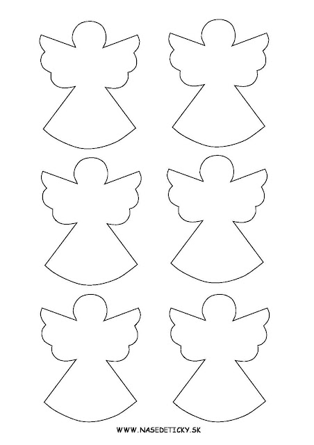 Free Printable Angels Labels, Toppers and Decorations.