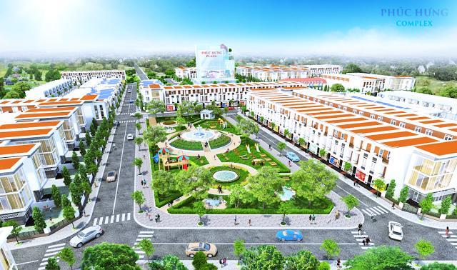 Phối cảnh dự án Phúc Hưng Complex