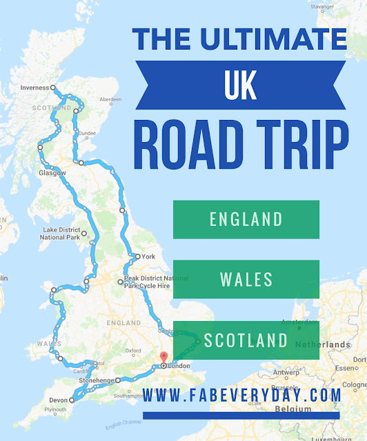 Driving Map Of England And Wales.Fab Everyday Because Everyday Life Should Be Fabulous Www