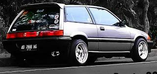 Honda civic wonder hatcback