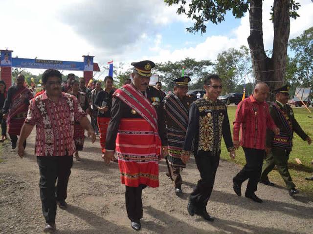 Barnabas Orno Pimpin Upacara Peringatan HUT ke X Maluku Barat Daya