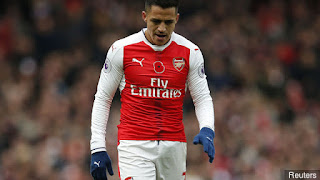 Arsenal Hitman Tops Unwanted Stat List So Far This Season