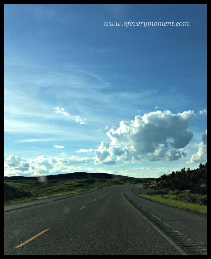 road trip, Montana to Wyoming
